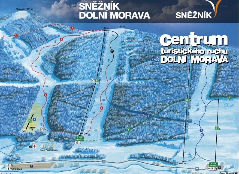 Горголыжная база Dolní Morava - Sněžník