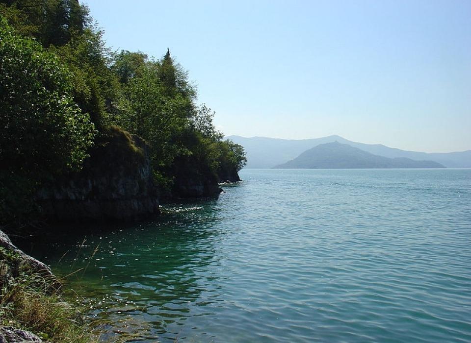 Озеро Lago d´Iseo