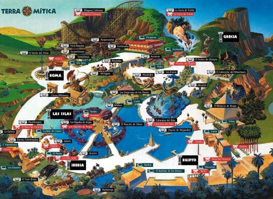 Развлекательный парк Terra Mitica Benidorm
