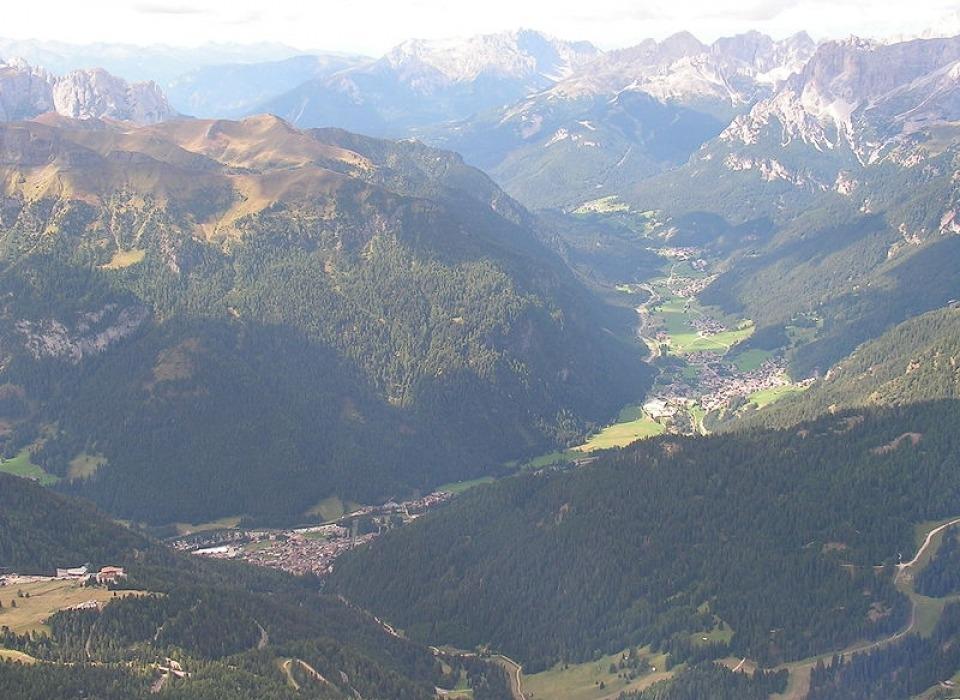 Долина Val di Fassa