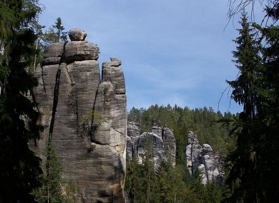 Адршпахско-теплицкие скалы