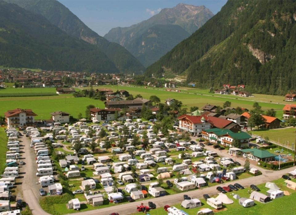 Кемпинг Mayrhofen - круглогодичный кемпинг