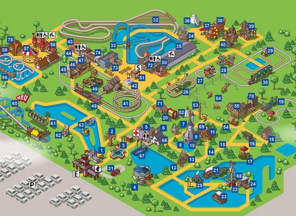 Plohn Freizeitpark - развлекательный парк