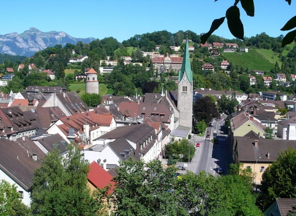 Feldkirch - средневековый город