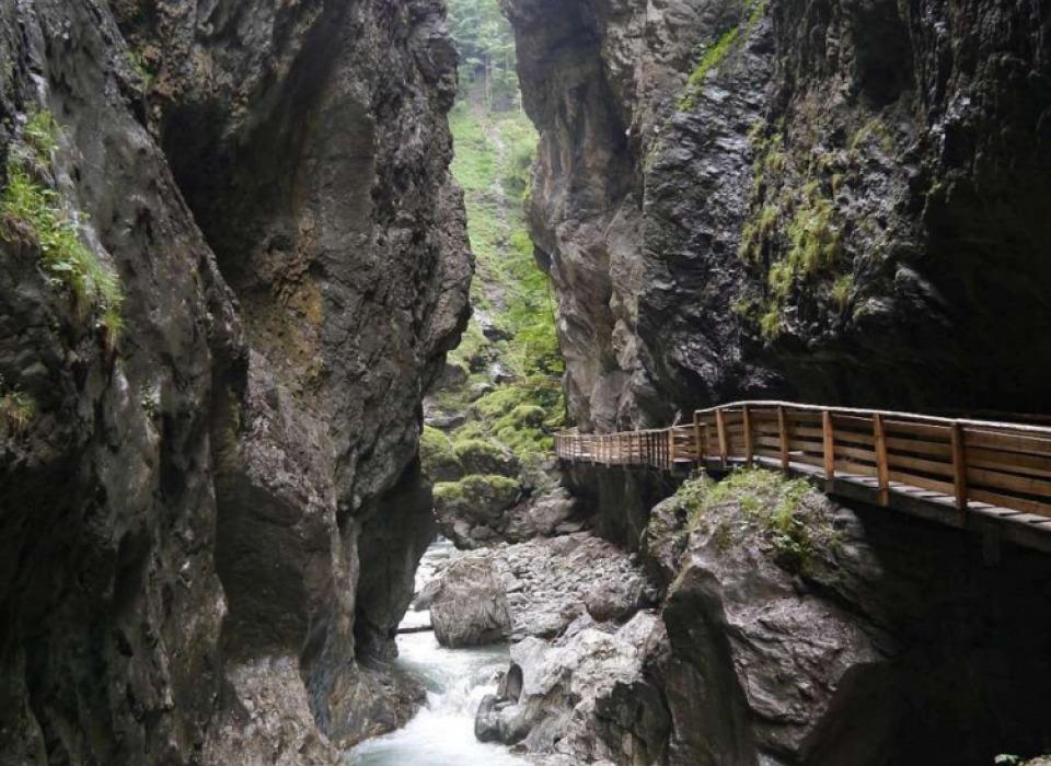 Лихтенштейнское ущелье (Lichtensteinklamm)