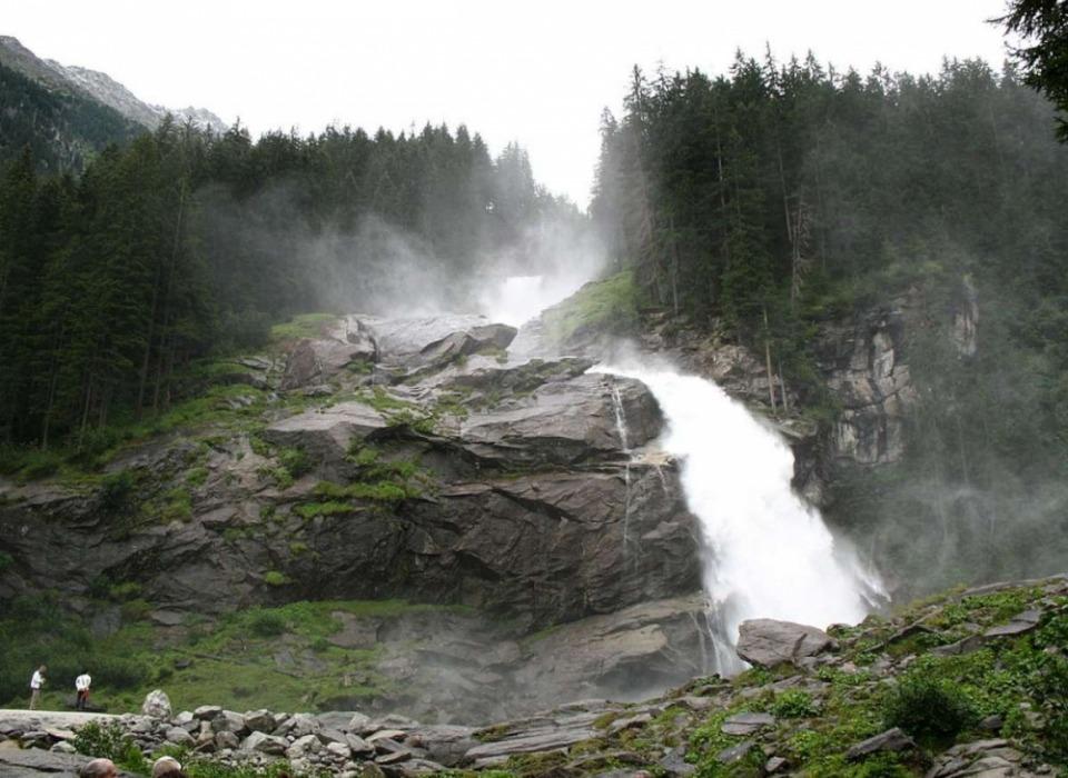 Водопады Krimmel