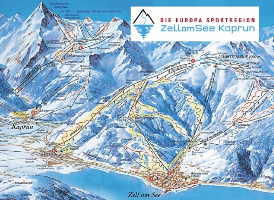 Горнолыжный курорт Europa Sportregion (НП Высокие Тауры)