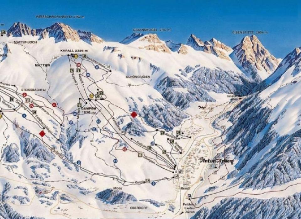 Горнолыжный курорт Arlberg