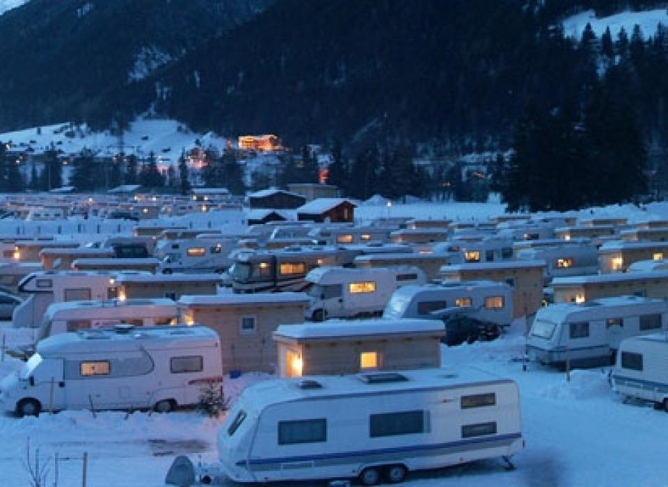 Кемпинг Arlberg - круглогодичный кемпинг