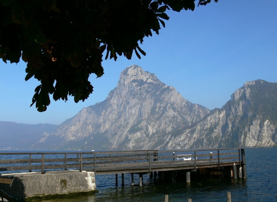 Озеро Traunsee (Gmunden)